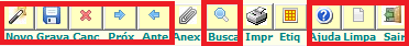 NeXT ERP cadastro de produto